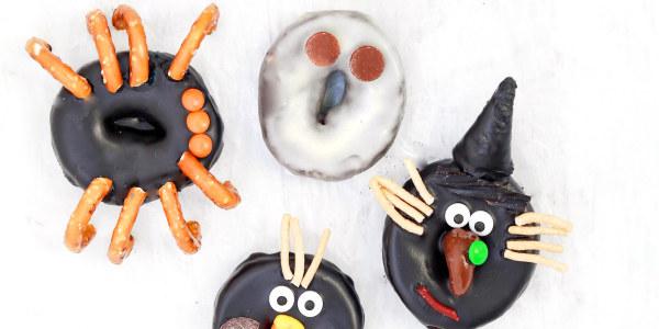Ghoulish Gang Doughnuts