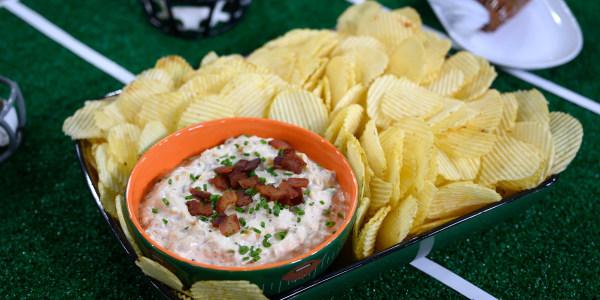Caramelized Onion-Bacon Dip