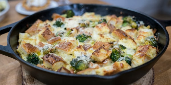Siri's Broccoli and Cheese Stratta