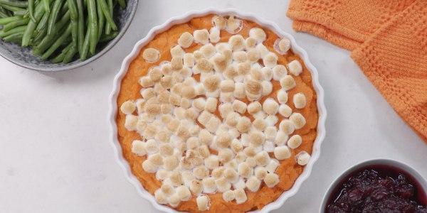 Joy Bauer's Easy Sweet Potato Casserole