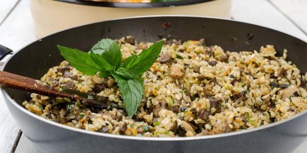 Italian Sausage and Rice Stuffing