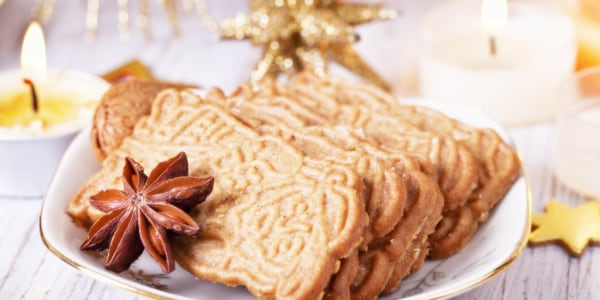 Holiday Spice Cookies