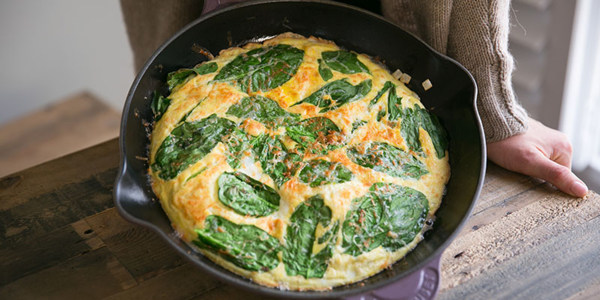 4-Ingredient Fall Frittata