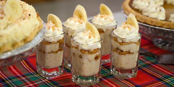Joy Bauer's Banana Cream Pie Shots