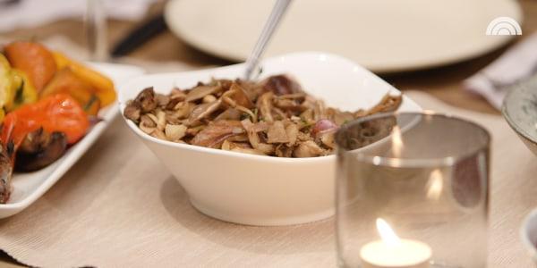 Joy Bauer's Easy Mushroom Sauce