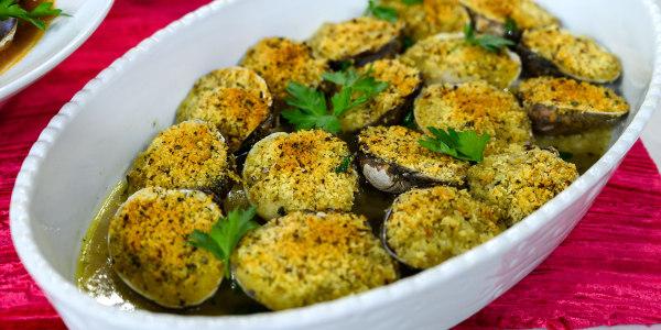 Baked Clams Oreganata