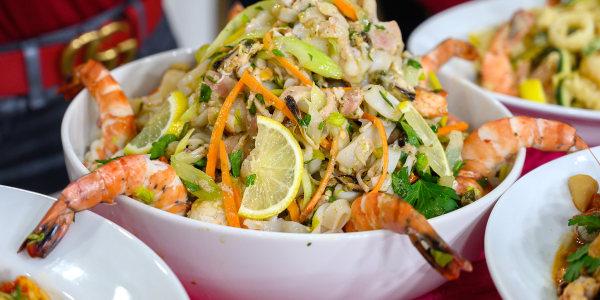 Italian Marinated Seafood Salad (Insalata di Mare)