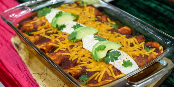Siri Daly's Leftover Turkey Enchiladas