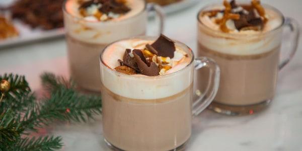 Reindeer Tracks Hot Chocolate