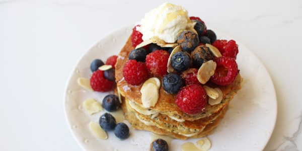Healthy protein pancakes you can make in 15 minutes