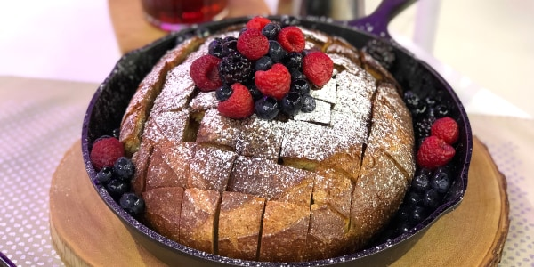 Baked Pull-Apart French Toast