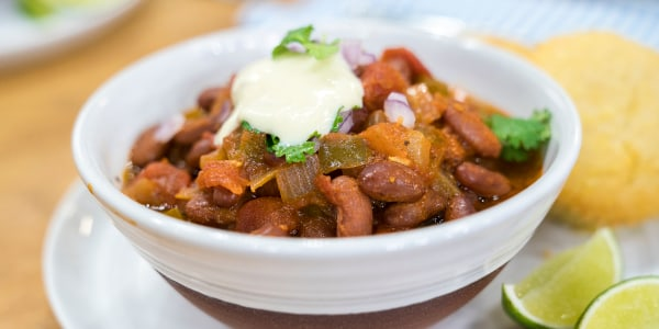 Vegan Firehouse Chili