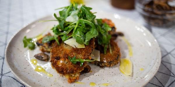 Bobby Flay's Eggplant Milanese