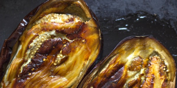 Bobby Flay's Roasted Eggplant