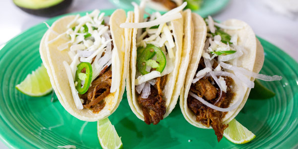 Instant Pot Chipotle Pork Tacos