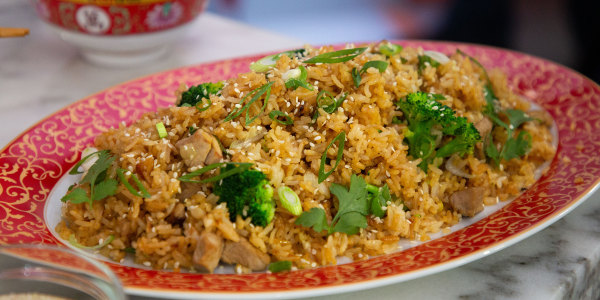 Pork Tenderloin Fried Rice
