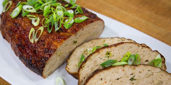 Asian-Spiced Turkey Meatloaf