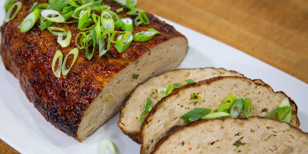 Asian-Spiced Turkey Meatloaf