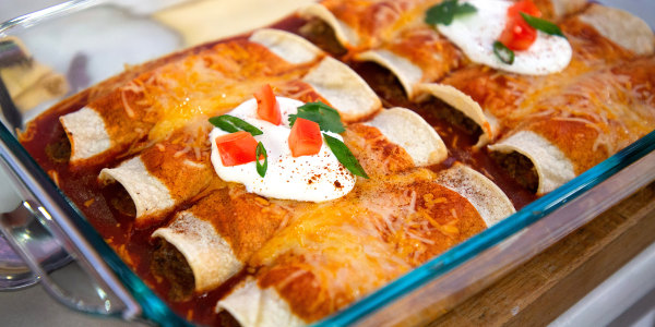 Easiest-Ever Beef Enchiladas