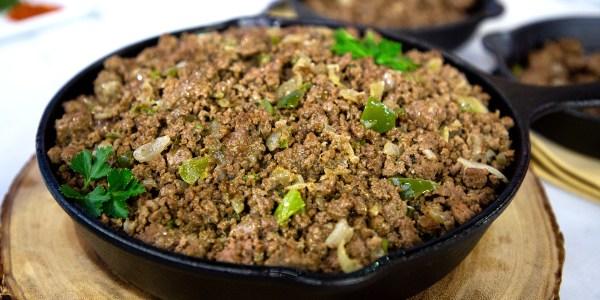 Make-Ahead Seasoned Ground Beef