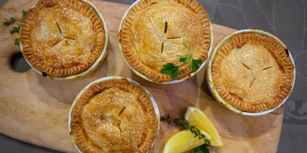 Quinn Daly's Chicken Pot Pies