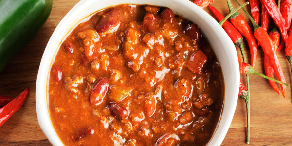 New England Slow-Cooker Chili