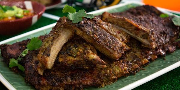 Grilled Garlic Pork Ribs