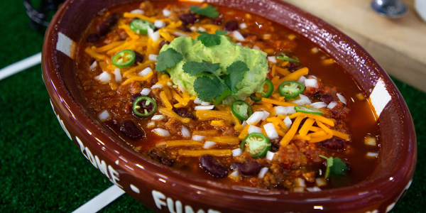 Spicy Meaty Chili