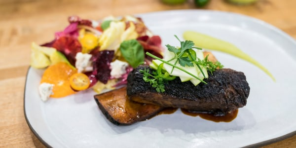 Jean-Georges' Soy-Glazed Beef Short-Ribs