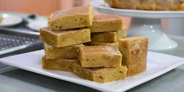 Maple Brown Butter Blondies