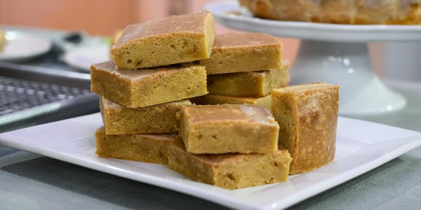 Maple Brown Butter Blondies