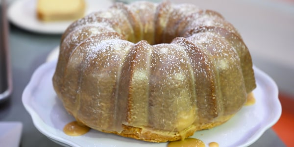 Brown Butter-Maple Bundt Cake with Maple Glaze