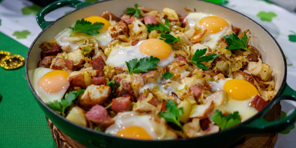 Siri's Corned Beef Hash with Eggs