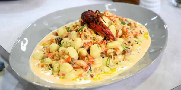 Truffled Crawfish Gnocchi