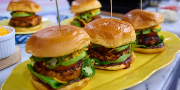 Siri Daly's Chicken Burgers