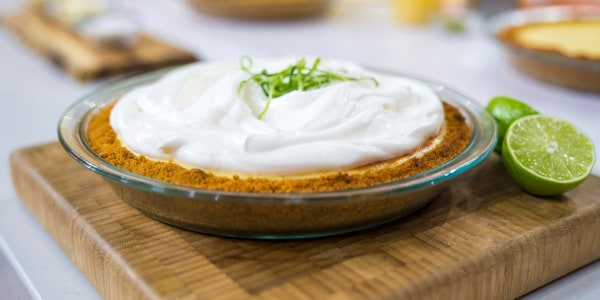 Melissa Clark's Key Lime Cream Pie