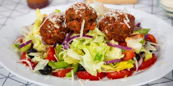 Lucali Meatball Salad