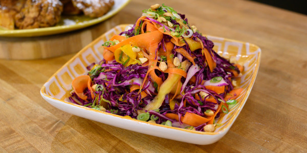 Sweet and Spicy Mango Slaw