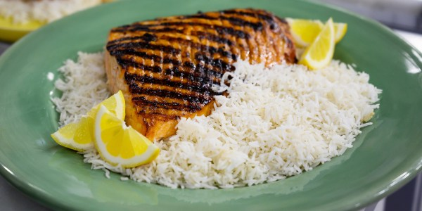 This BBQ salmon recipe makes 3 healthy meals for the week