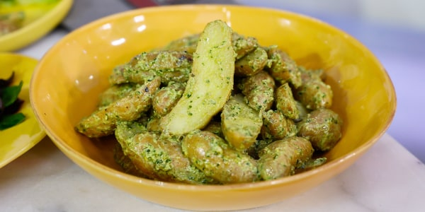 Easy Pesto Potato Salad