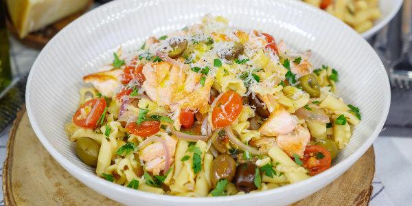 Giada's Campanelle with Fresh Puttanesca Sauce