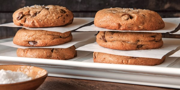 Sweet and Salty Brown Butter Chocolate Chip Cookies