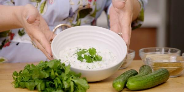 Joy Bauer's Cucumber Yogurt Dip
