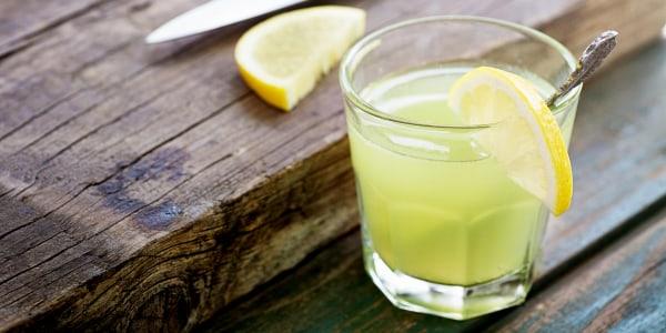 Martha Stewart's Smoky Lemon Margarita