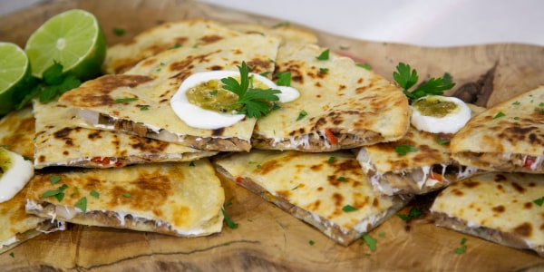 Pork Carnitas Quesadillas