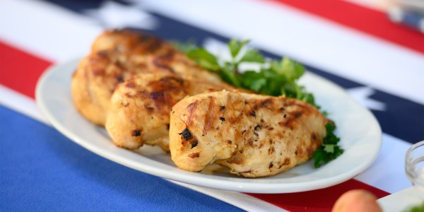 Beer-Marinated Grilled Chicken