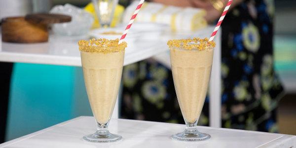Healthy Salted Caramel Milkshake