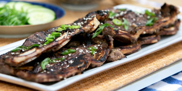 Martha Stewart's Grilled Korean-Style Short Ribs