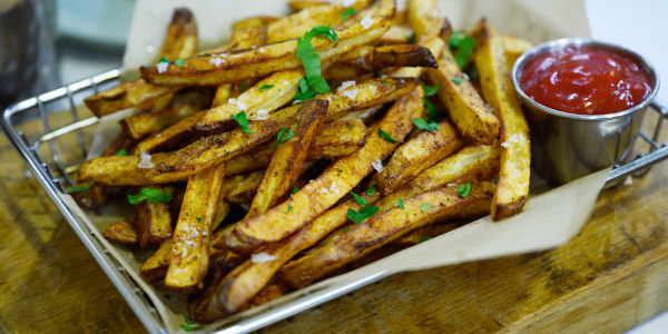 Shortcut Crispy Fries