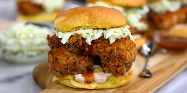 'BB Roo' Chicken Sandwiches